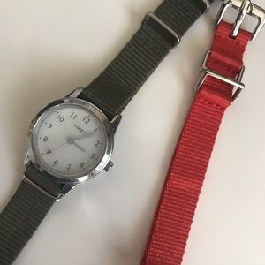 Timex Accessories - Timex for J Crew Watch - with extra strap